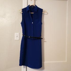 Navy Blue Dress (sleeveless)